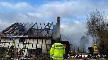 Brand eines Wohnhausanbaus in Brünnighausen - leinetal24.de