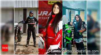 Meet the women blazing their path of victory in motorsports - Times of India