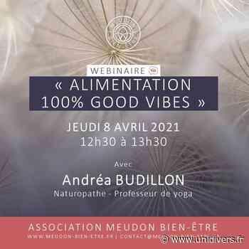 Webinaire : « Alimentation 100% good vibes » – Andréa BUDILLON, Naturopathe Meudon jeudi 8 avril 2021 - Unidivers