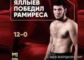 Arslan Iallyev Stops Victor Ramirez in Seventh in Krasnodar - BoxingScene.com