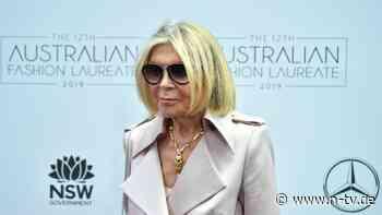 Nach schwerem Sturz in der Oper: Modedesignerin Carla Zampatti gestorben