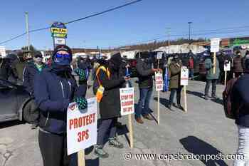 FFAW rally in Clarenville highlights worry over 3Ps cod for fishers, Icewater employees - Cape Breton Post