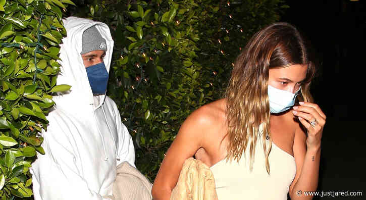 Justin Bieber Goes Comfy Casual for Date Night with Hailey