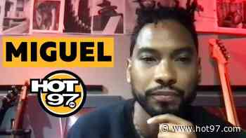 Miguel On Returning To Music, State Of R&B, Mexican Heritage + Being Business Minded - Hot97 - Hip Hop & R&B News