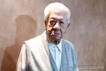 ¡Pone el ejemplo! Ignacio López Tarso a sus 96 años ya se vacunó - Netnoticias