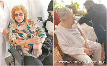 Tras la vacuna, a Pinal y López Tarso los espera el trabajo | El Universal - El Universal