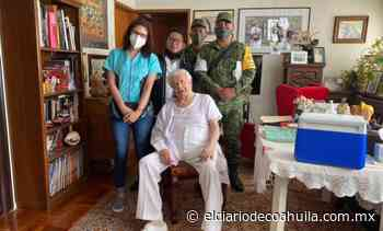 Recibe vacuna López Tarso – El Diario de Coahuila - El Diario de Coahuila