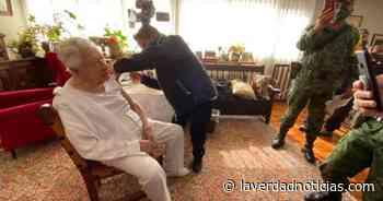 Ignacio López Tarso recibe vacuna de COVID-19 - La Verdad Noticias