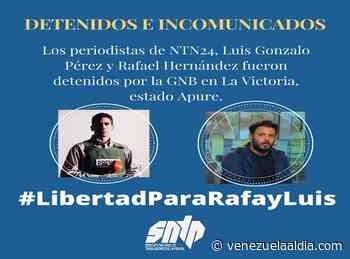 Liberan en Guasdualito al equipo reporteril de NTN24 y activistas de FundaRedes - Venezuela Al Día