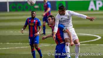 Real Madrid keep pressure on at the top with win over Eibar