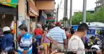 Semana Santa en Puerto Maldonado: Ciudadanos no cumplen con medidas dictadas por COVID-19 - América Televisión