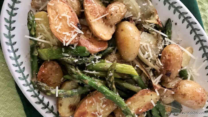 Recipe: Roasting spring vegetables brings out the flavor