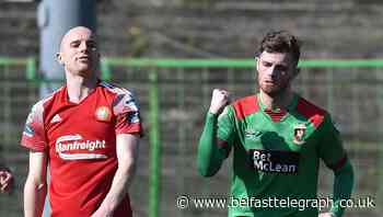 Irish League reaction: Rory Donnelly back to form that earned England switch according to Glentoran assistant while Coleraine bemoan 'frustrating' decision not to send off Glenavon goalkeeper
