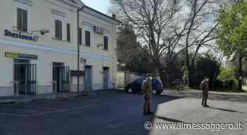 Zona rossa a Fara Sabina, da questa mattina in servizio anche i militari dell operazione Strade Sicure . Foto - ilmessaggero.it