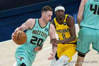 Gordon Hayward sprains ankle; unlikely to play vs. Celtics on Sunday