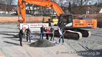 Poppenhausen: Auf den Steinwiesen entsteht ein großes Mehrzweckgebäude - Fuldaer Zeitung