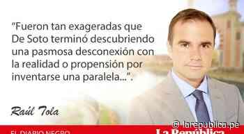 Los falsos valores, por Raúl Tola - LaRepública.pe