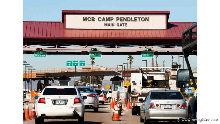 Recon Marine held in Camp Pendleton brig in connection with missing ammunition