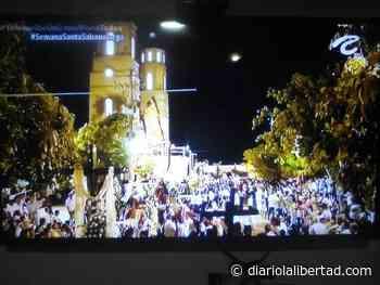 Sabanalarga celebra la Semana Mayor sin bioseguridad para prevenir el Covid - Diario La Libertad