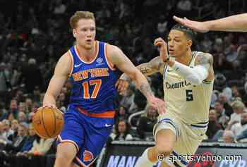 Iggy Brazdeikis is excited to join Sixers, learn from veterans on roster