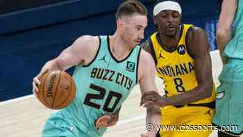 Gordon Hayward injury update: Hornets forward out at least four weeks with right foot sprain, team announces