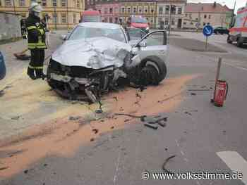 Fahrer (21) verursacht Unfall unter Drogen - Volksstimme