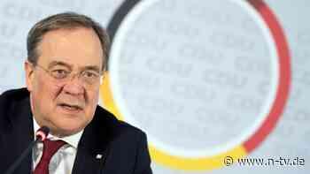 """""""Harte Wochen und Monate"""": Laschet: Kampf gegen Pandemie verbessern"""