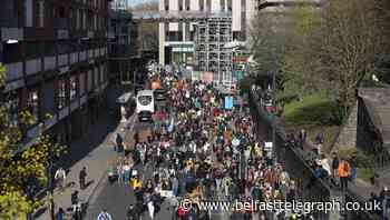 'Kill the Bill' protesters take to the streets across England