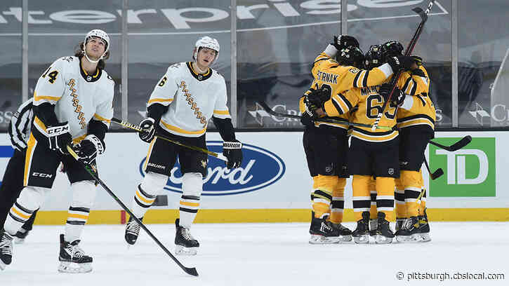Penguins' Win Streak Snapped At 5, Lose To Bruins 7-5