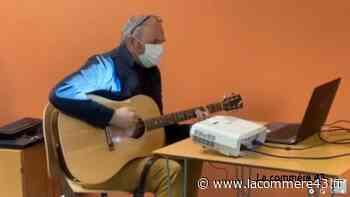 Monistrol-sur-Loire : l'atelier d'écriture de chansons se poursuit avec Yvan-Marc - La Commère 43 - La Commère 43
