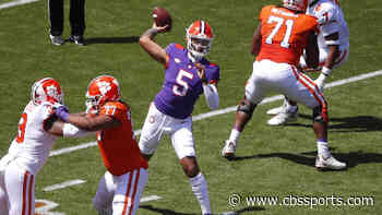2021 Clemson football spring game takeaways: D.J. Uiagalelei plays well, but QB depth stands out as concern