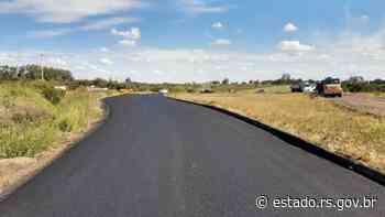 RSC-377 recebe melhorias em Alegrete, na Fronteira Oeste - Governo do Estado do RS