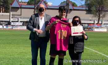 """Lorenzo Tizi, 100 presenze con il Tolentino: """"La mia casa, orgoglioso"""" - marcheingol.it"""