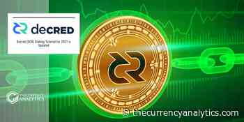 Decred (DCR) Staking Tutorial for 2021 is Updated - The Cryptocurrency Analytics