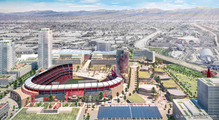 Latest filing in Angels' plan for development around stadium identifies first areas for work