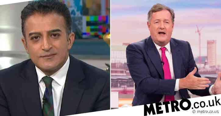 Good Morning Britain: Adil Ray to replace Piers Morgan throughout April after presenter's exit