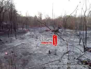 Incendios pondrían en riesgo al paraíso llamado Bacalar - Elpuntosobrelai.com