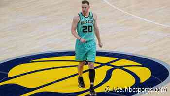 Hornets: Gordon Hayward out at least four weeks with foot injury