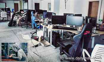 Inside the HQ of the Chinese cyber ransom gang
