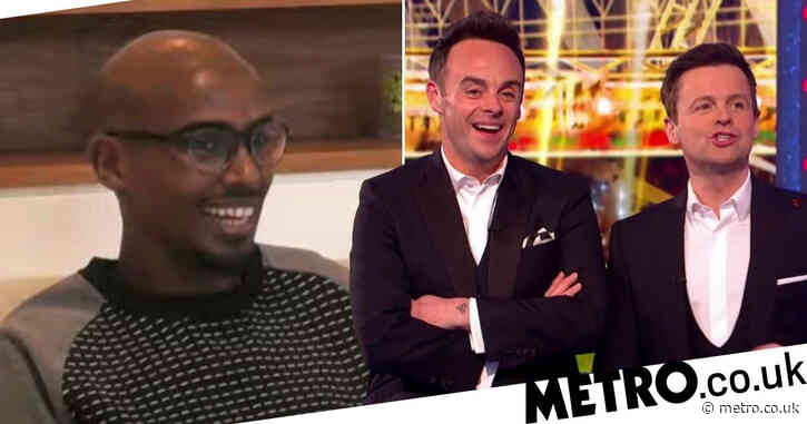 Ant and Dec's Saturday Night Takeaway: Sir Mo Farah dubbed 'national treasure' as he handles awkward challenge like a pro
