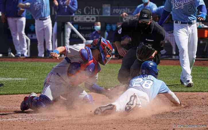 Rangers Fall To Royals 11-4, Allow 25 Runs In First 2 Games Of Season