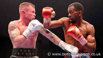 Carl Frampton confirms retirement after losing title fight to Jamel Herring