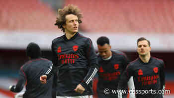 Arsenal's David Luiz in line for surgery on knee injury after missing Liverpool defeat; season in doubt