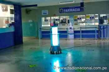 Coronavirus: Hospital Regional de huacho desinfecta ambientes con luz ultravioleta - Radio Nacional del Perú