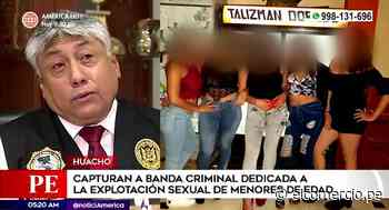 Huacho: capturan a banda dedicada a la explotación sexual de menores - El Comercio Perú
