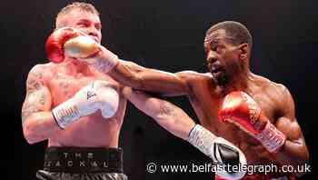 Carl Frampton confirms boxing exit following loss to Jamel Herring