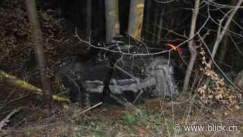 Fahrer (†22) und Beifahrer (†27) sterben bei Horror-Crash in Dornach SO! - BLICK