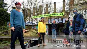 Protesters in Camden and Haringey highlight climate bill | Hampstead Highgate Express - Hampstead Highgate Express