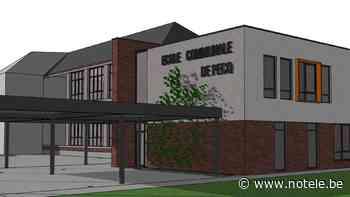 Le projet d'extension de l'école communale de Pecq est sur la bonne voie - Notélé