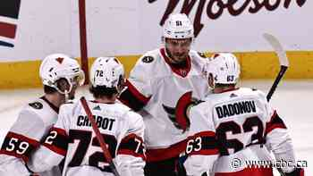 Sens out jostle Canadiens to snap Montreal's 3-game win streak